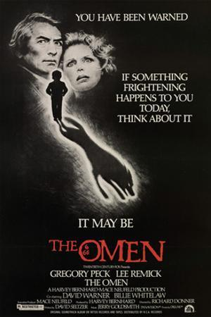 The Omen, Gregory Peck, Lee Remick, 1976