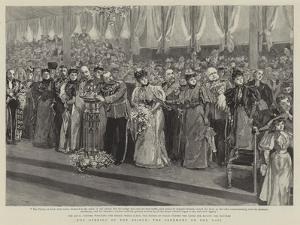 The Opening of the Bridge, the Ceremony on the Dais