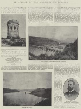 The Opening of the Liverpool Waterworks