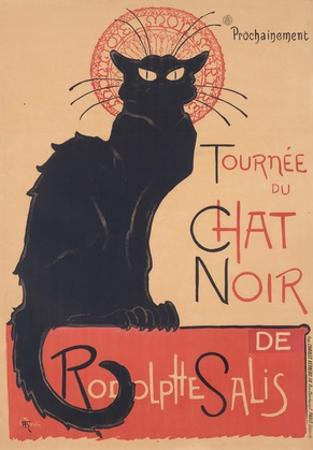 Tourne?e du Chat Noir, 1896 www.lacma.org by The?ophile Steinlen