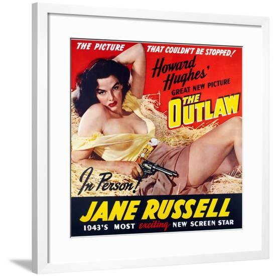 The Outlaw, 1943, Directed by Howard Hughes--Framed Giclee Print