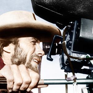 THE OUTLAW JOSEY WALES, actor-director Clint Eastwood, on set, 1976