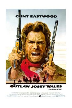 The Outlaw Josey Wales - Movie Poster Reproduction