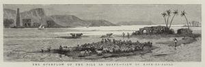 The Overflow of the Nile in Egypt, View of Kafr-Es-Sayad