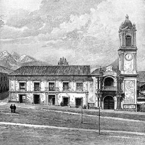 The Palace of Congress, La Paz, Bolivia, 1895