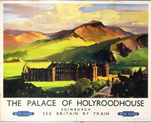 The Palace of Holyroodhouse, British Railways, c.1955