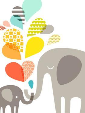 Elephants by The Paper Nut