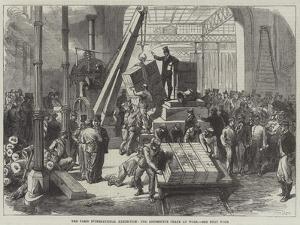 The Paris International Exhibition, the Locomotive Crane at Work