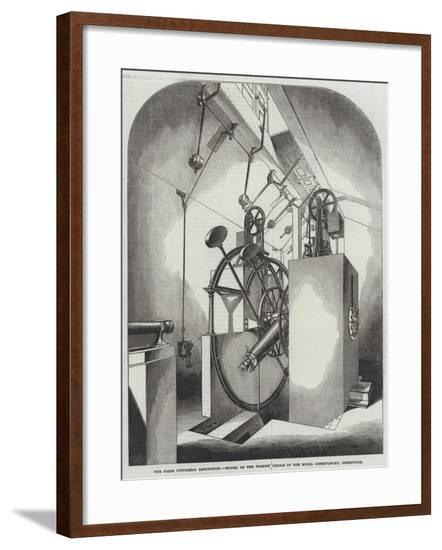 The Paris Universal Exhibition, Model of the Transit Circle in the Royal Observatory, Greenwich--Framed Giclee Print