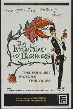 """The Passionate People Eater, 1960 """"The Little Shop of Horrors"""" Directed by Roger Corman"""