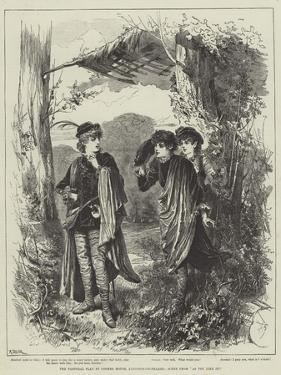 The Pastoral Play at Coombe House, Kingston-On-Thames, Scene from As You Like It