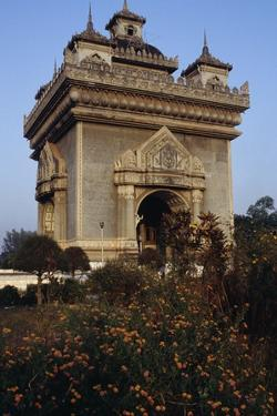 The Patuxai (Victory Gate or Gate of Triumph)
