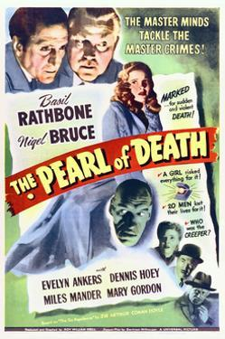 The Pearl of Death - Movie Poster Reproduction