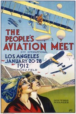 The People's Aviation Meet Poster