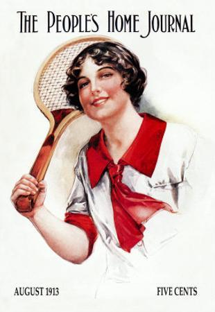 The People's Home Journal: Tennis