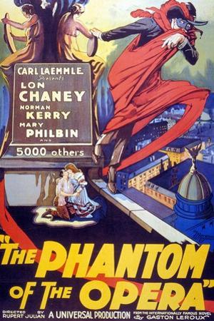 The Phantom of the Opera, 1925, Directed by Rupert Julian