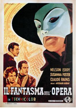 The Phantom of the Opera, (aka Il Fantasma Dell Opera), 1943