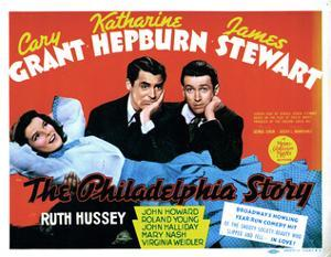 The Philadelphia Story, Katharine Hepburn, Cary Grant, James Stewart, 1940