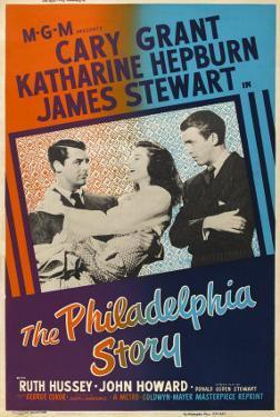 The Philadelphia Story, UK Movie Poster, 1940