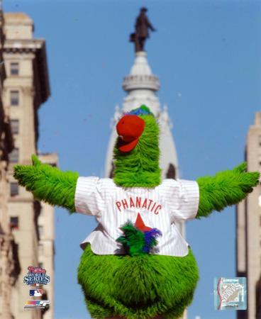 The Philly Phanatic 2008 World Series Parade