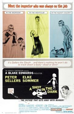"The Pink Panther: a Shot In the Dark, 1964, ""A Shot In the Dark"" Directed by Blake Edwards"