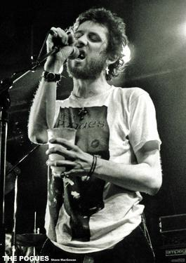The Pogues- Shane MacGowan Live