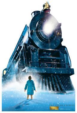 The Polar Express - Train Lifesize Cardboard Cutout