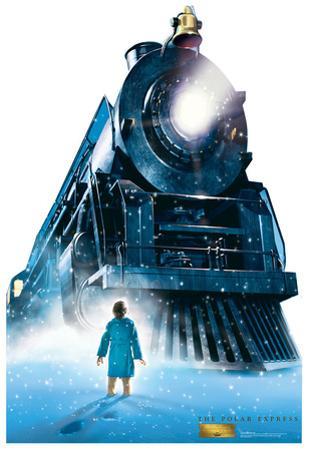 The Polar Express - Train Lifesize Standup