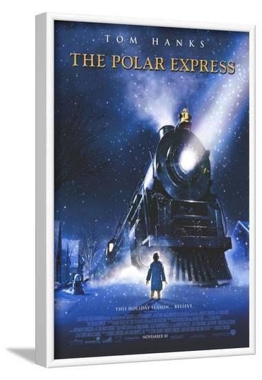 The Polar Express--Framed Masterprint