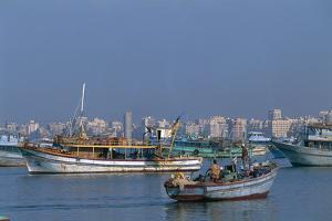 The Port of Alexandria, Egypt