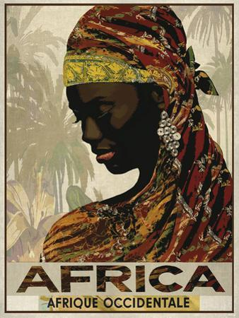 Vintage Travel Africa by The Portmanteau Collection