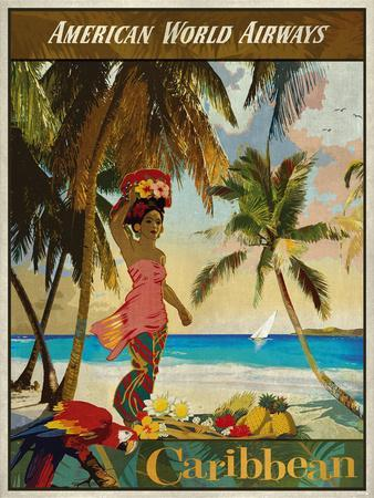 Vintage Travel Caribbean