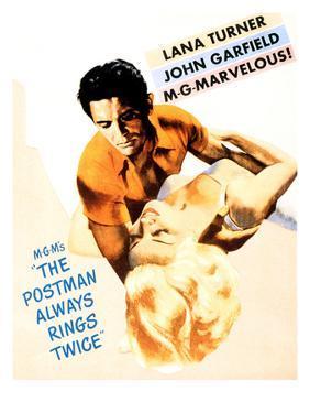 The Postman Always Rings Twice, John Garfield, Lana Turner, 1946