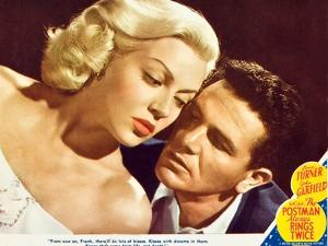 The Postman Always Rings Twice, Lana Turner, John Garfield, 1945