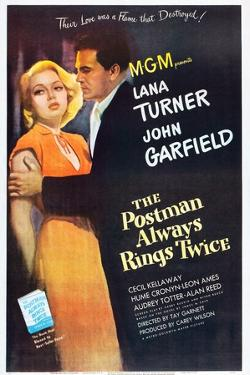 The Postman Always Rings Twice, Lana Turner, John Garfield, 1946