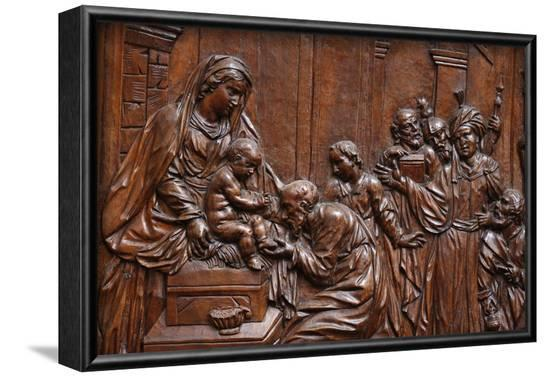 The Presentation of Jesus at the Temple, Karlskirche (St. Charles's Church), Austria-Godong-Framed Photographic Print