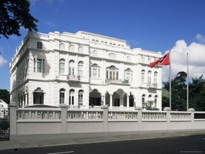 The Prime Minister's Office, Known as Whitehall, Port of Spain, Trinidad & Tobago