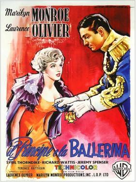 The Prince and the Showgirl, Italian Movie Poster, 1957