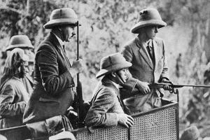 The Prince of Wales Tiger Shooting in Nepal, the Indian Tour, 1921
