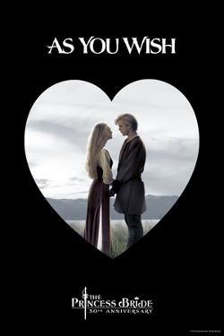 The Princess Bride - As You Wish Heart