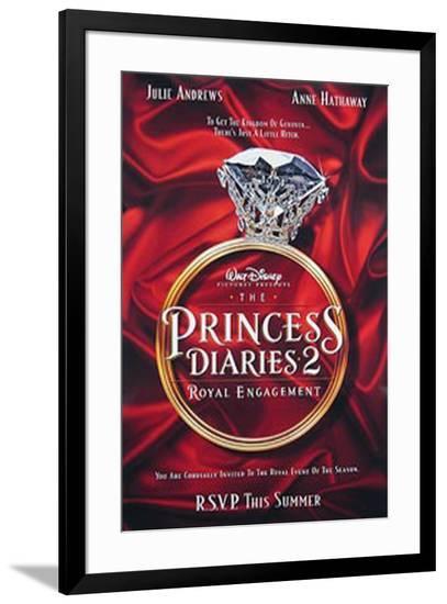 The Princess Diaries 2--Framed Original Poster