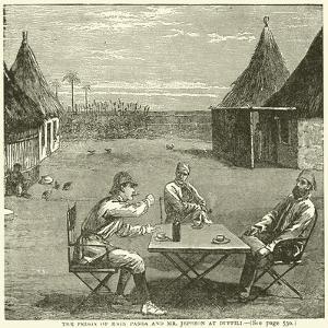 The Prison of Emin Pasha and Mr Jephson at Duffili