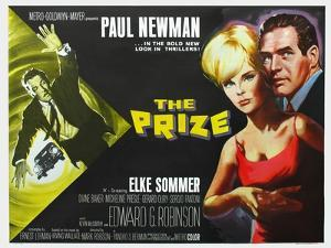 The Prize, UK Movie Poster, 1963