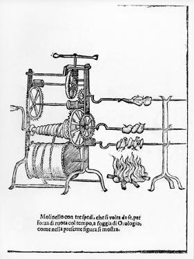The Procedure for Spit Roasting