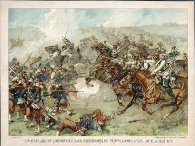 The Prussian Cavalry Charge at Vionville-Mars-La-Tour During the Franco-Prussian War