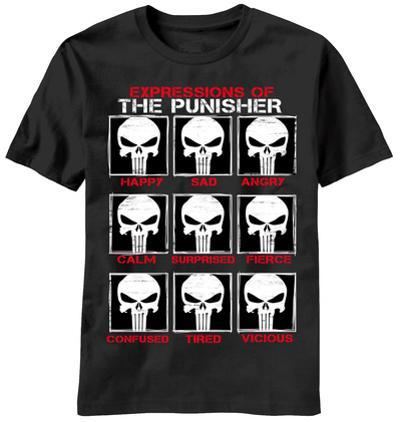 The Punisher - Skull Emotes