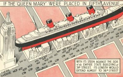 The Queen Mary on Fifth Avenue