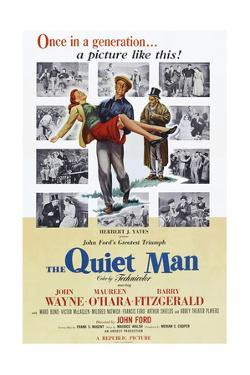 The Quiet Man, Maureen O'Hara, John Wayne, Barry Fitzgerald, 1952