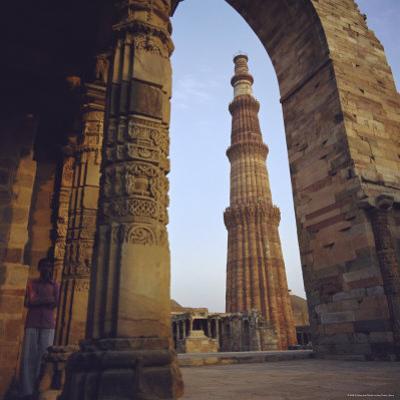 The Qutb Minar, Delhi, India by G Richardson