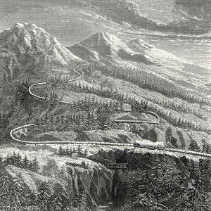 The 'Rail Central' Railway Established in 1866 on the Mont Cenis